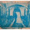 Cyanotype in Yellow Card